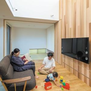 贅沢なまでに 無垢を使用した 自然素材の家